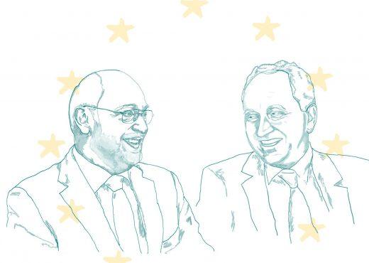 Studopolis-Debate mit Martin Schulz und Alexander Graf Lambsdorff
